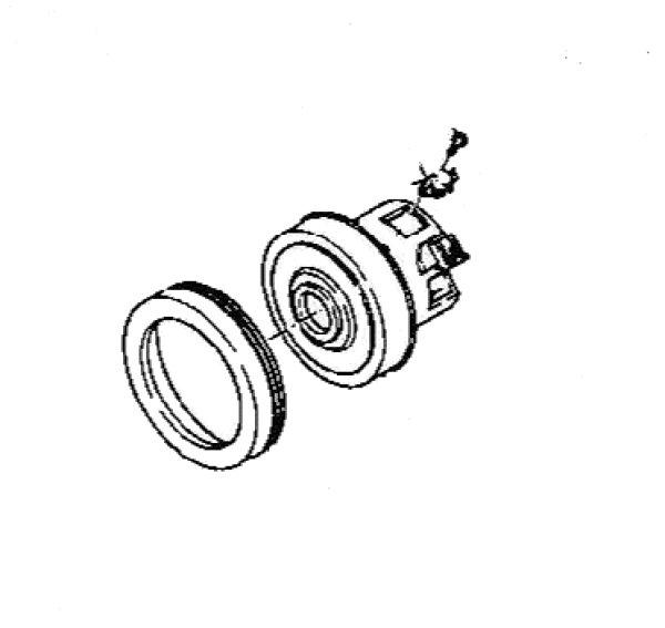 画像1: 日立掃除機用モ-タ- (1)