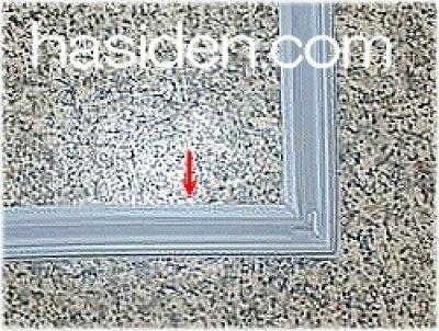 画像1: 冷蔵庫チルド室扉用パッキン