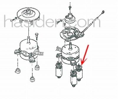 画像1: 日立洗濯機用防振ゴム