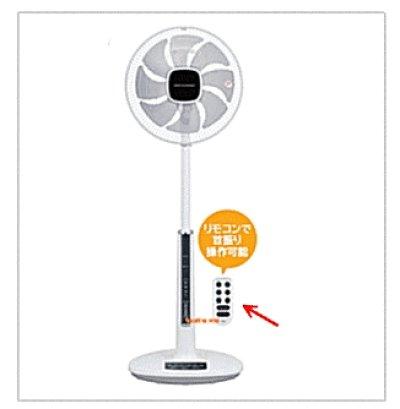 画像1: 扇風機用リモコン
