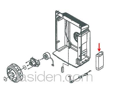 画像1: 空気清浄機用給水タンク