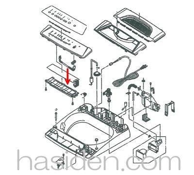 画像1: 洗濯機用・スイッチ基板
