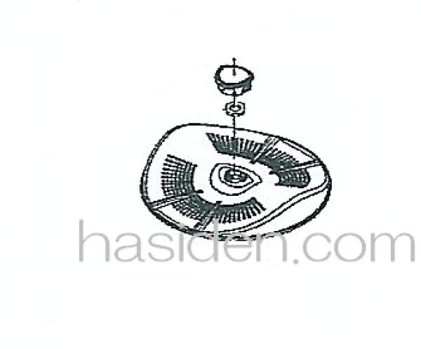 画像1: 洗濯機用パルセーター (1)
