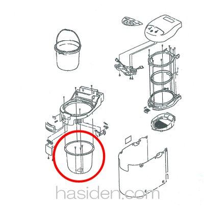 画像1: ごみ処理機・生ゴミ、ソト容器