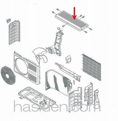 画像1: エアコン用カバ-