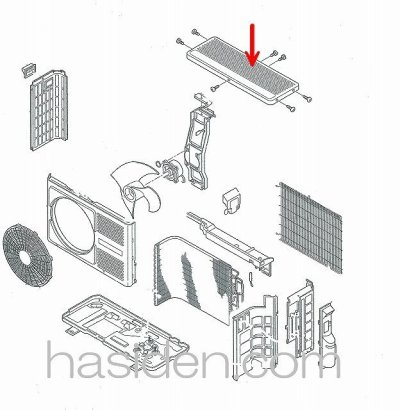 画像2: エアコン用カバ-