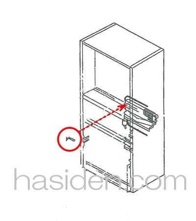 画像1: 冷蔵庫・霜取りセンサ-