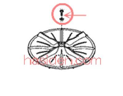 画像1: 洗濯機用パルセータ-用ネジ