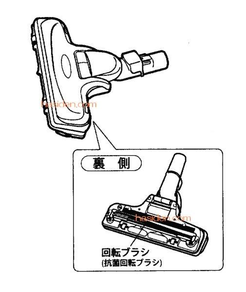 画像1: 日立掃除機用吸い口 (1)