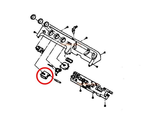 画像1: 日立洗濯機用・タイマ- (1)