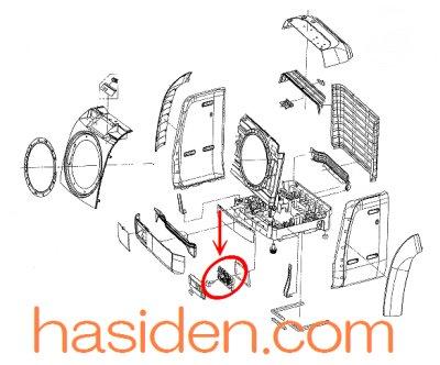 画像1: 洗濯機用・メイン基板