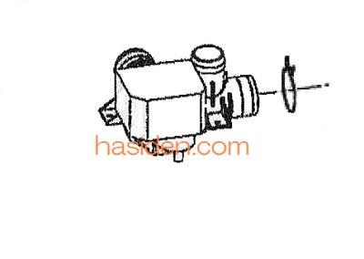 画像1: 日立洗濯機用排水弁(バルブ)