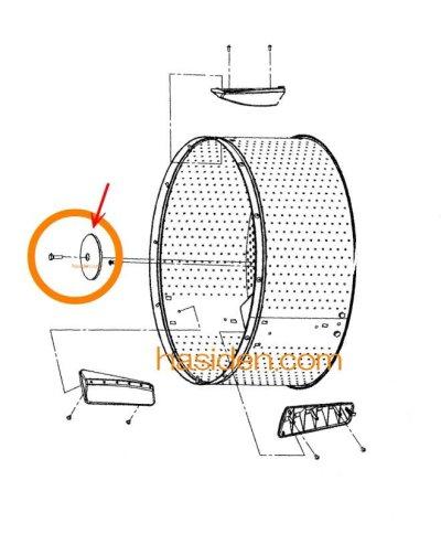 画像1: 洗濯機用・ドラムキャップ