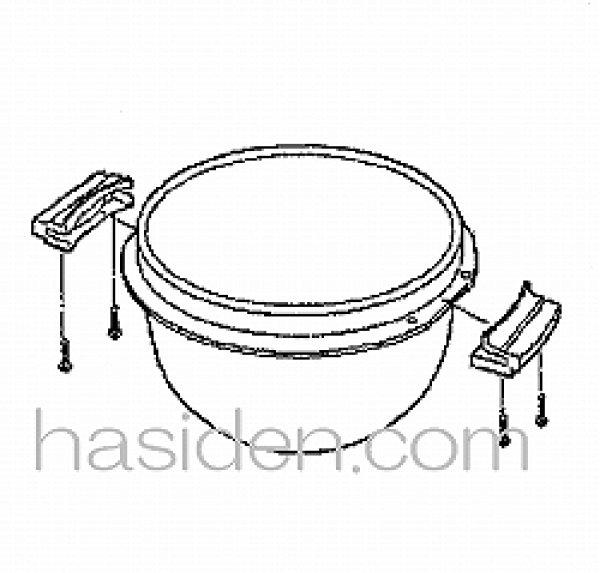 画像1: ジャー炊飯器用内釜 (1)