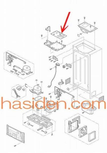 画像1: 冷蔵庫・基板 (1)