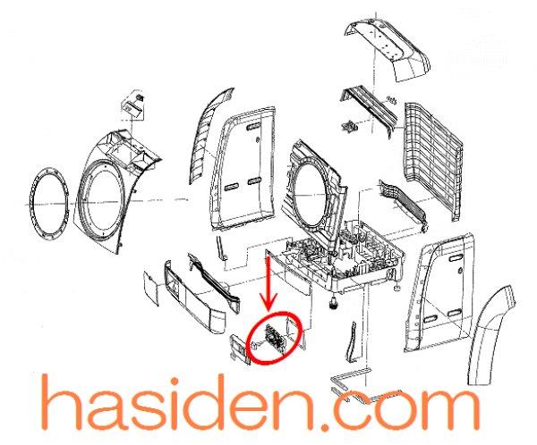 画像1: 洗濯機用・メイン基板 (1)