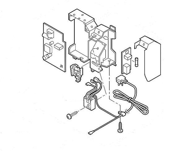 画像1: エアコン用基板・室内機 (1)