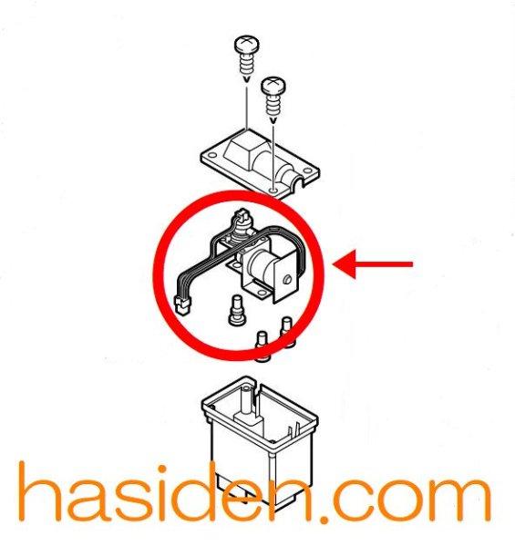 画像1: 冷蔵庫用・真空ポンプ部 (1)