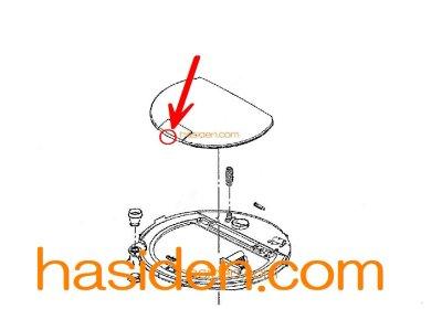 画像1: 日立洗濯機用・フタラッチ