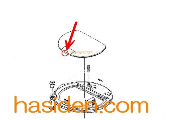 画像1: 日立洗濯機用・フタラッチ (1)