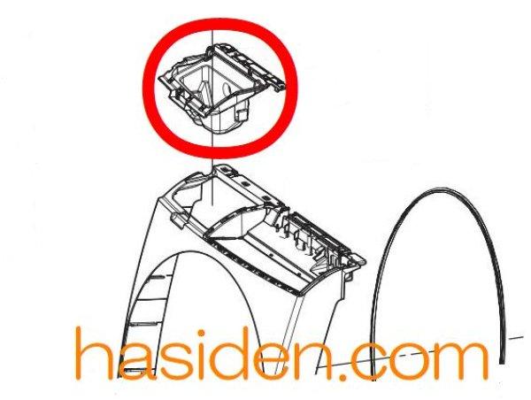 画像1: 日立洗濯機用・洗剤ボックス (1)
