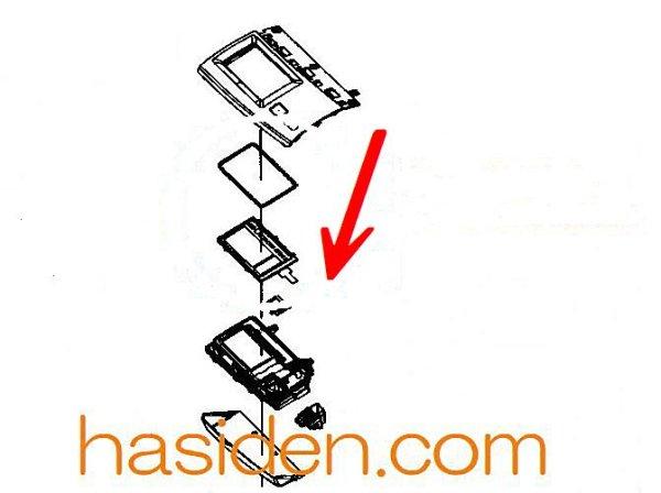 画像1: 日立洗濯機用・ヒョウジパネル (1)