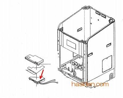 画像1: 洗濯機用・コントロ-ル P 基板