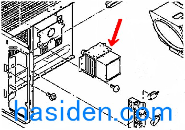 画像1: 電子レンジ用マグネトロン (1)