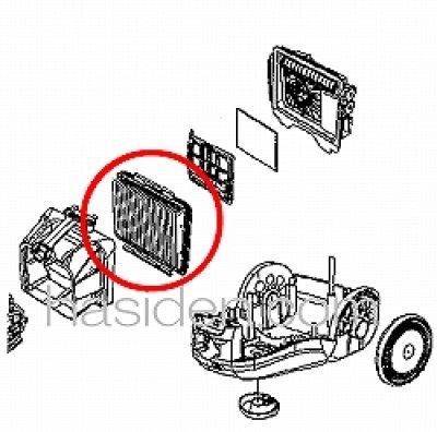 画像1: 日立掃除機用フィルタ−