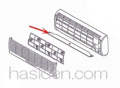 画像2: エアコン用風向板