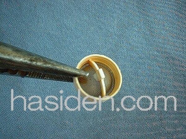 画像1: 日立洗濯機用給水弁用フィルタ- (1)