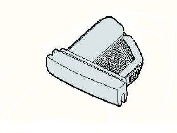画像1: 洗濯乾燥機用糸くずフィルタ− (1)