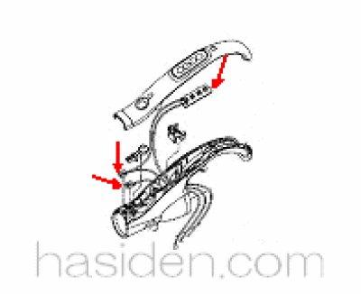 画像1: 日立掃除機用(手元スイッチ部)結線組