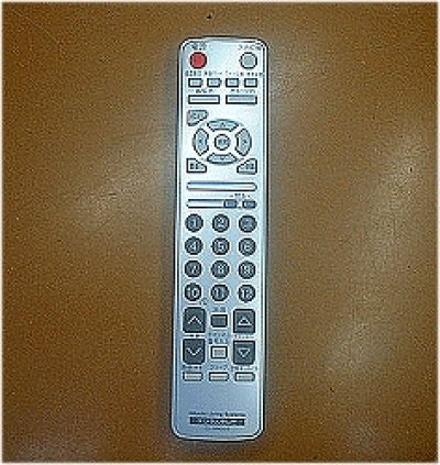 画像1: テレビ用リモコン