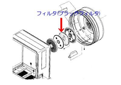 画像1: 乾燥機用フィルタ